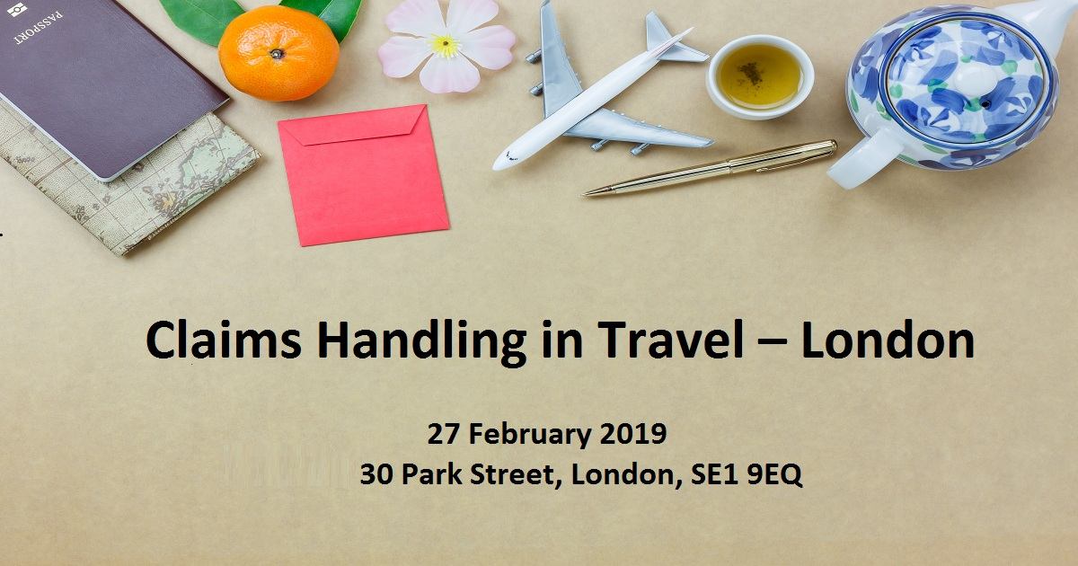 Claims Handling in Travel – London