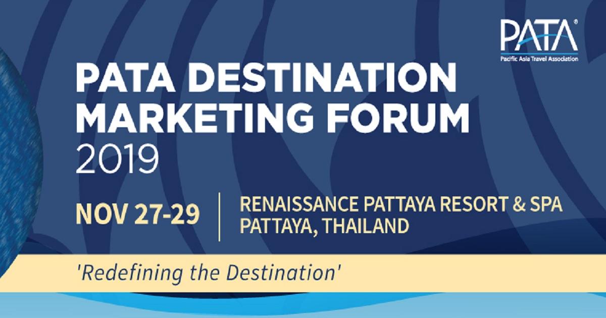 PATA Destination Marketing Forum 2019