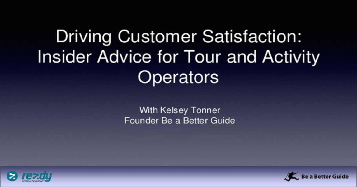 Insider Advice for Tour and Activity Operators