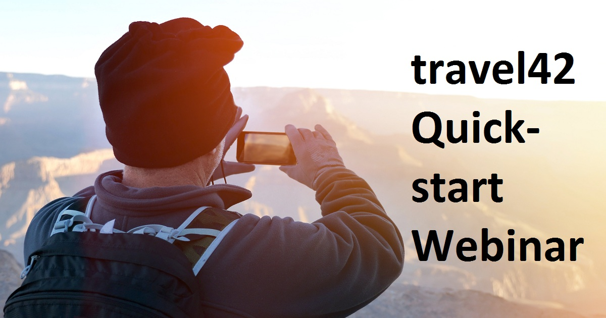 travel42 Quick-start Webinar