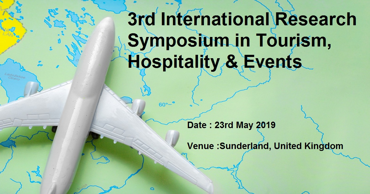 3rd International Research Symposium in Tourism, Hospitality & Events