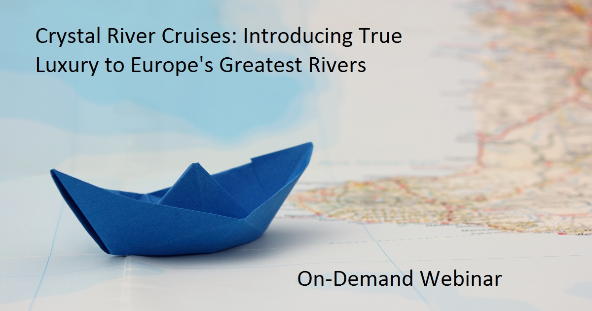 Crystal River Cruises: Introducing True Luxury to Europe's Greatest Rivers