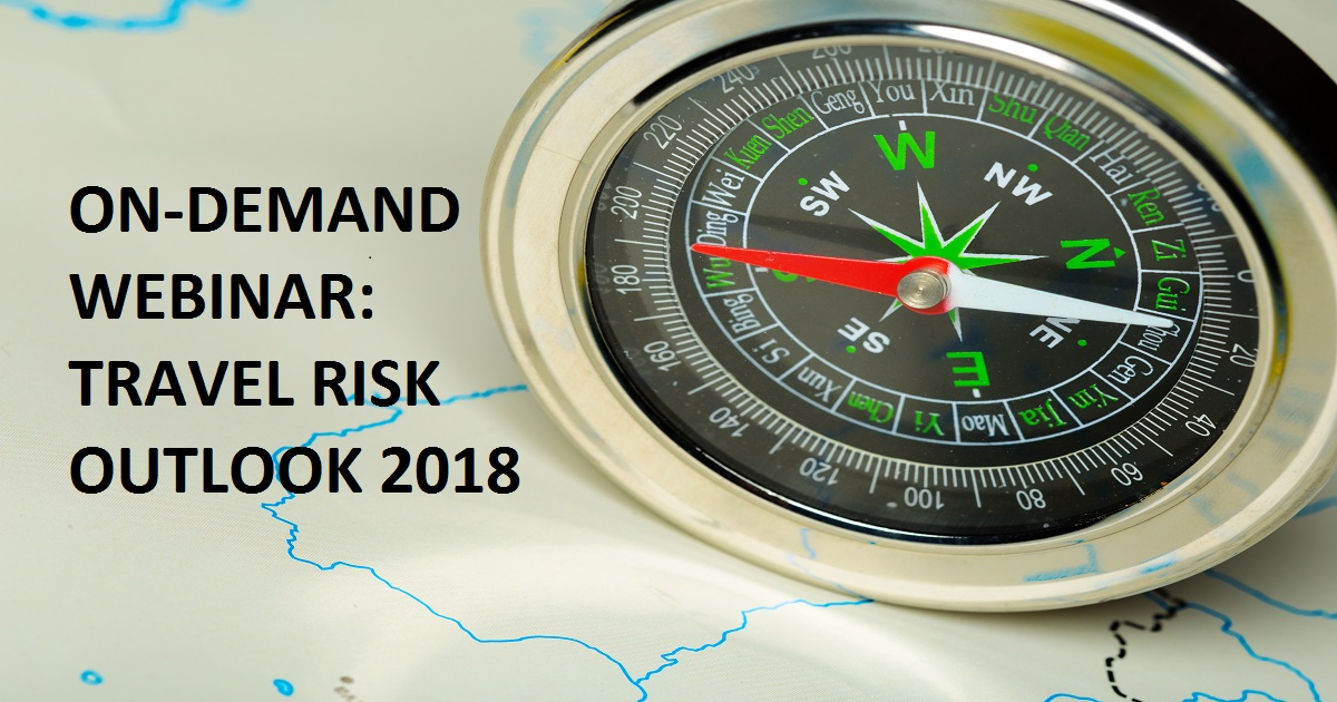 TRAVEL RISK OUTLOOK 2018