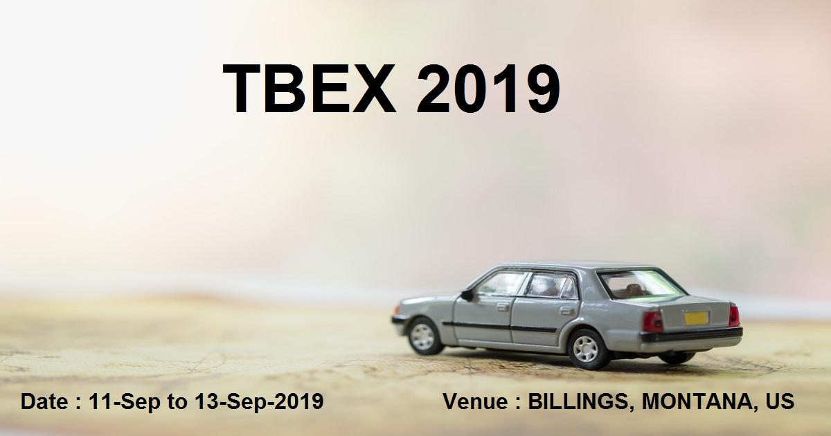 TBEX 2019