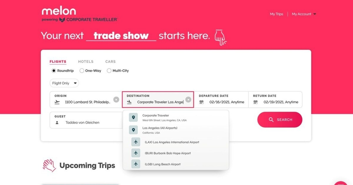 Corporate Traveler Launches Melon, A New Travel Platform Built Exclusively for SMEs