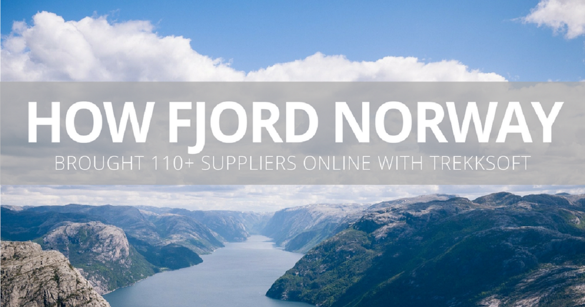 HOW FJORD NORWAY BROUGHT 110+ SUPPLIERS ONLINE WITH TREKKSOFT AND MADE THEIR REGION MORE SUSTAINABLE