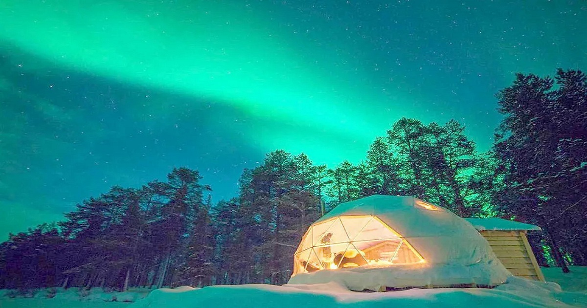 GORGEOUS WINTER GLAMPING SPOTS YOU NEED TO KNOW ABOUT