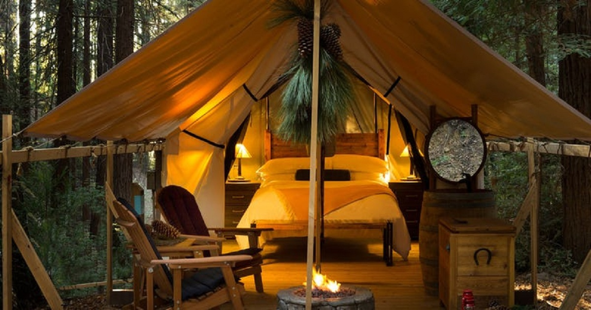 10 MOST LUXURIOUS GLAMPING SPOTS IN CALIFORNIA