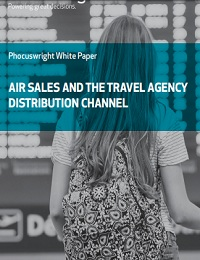 AIR SALES AND THE TRAVEL AGENCY DISTRIBUTION CHANNEL