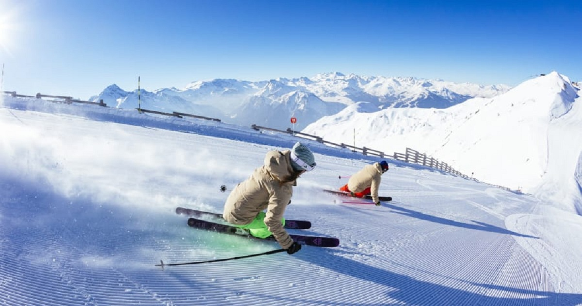 12 OF THE WORLD'S BIGGEST SKI AREAS