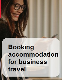BOOKING ACCOMMODATION FOR BUSINESS TRAVEL